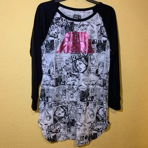 STAR WARS COMIC BOOK LONG TEE SIZE L